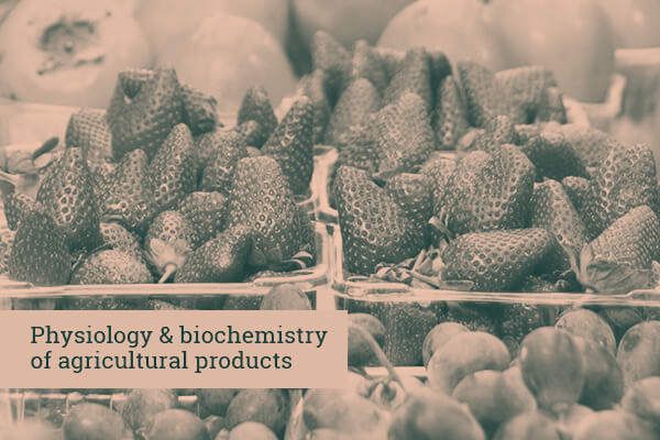 Physiology & biochemistry of agricultural products